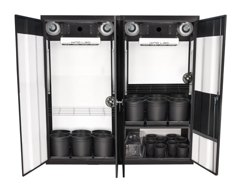 SuperCloset LED Trinity 3.0 Soil Grow Box
