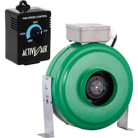 "Active Air 4"" Inline Fan and Controller Combo"