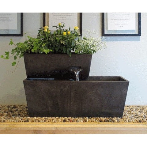 Aquaponic System - AquaDesigner Tranquility Yon Living Fountain