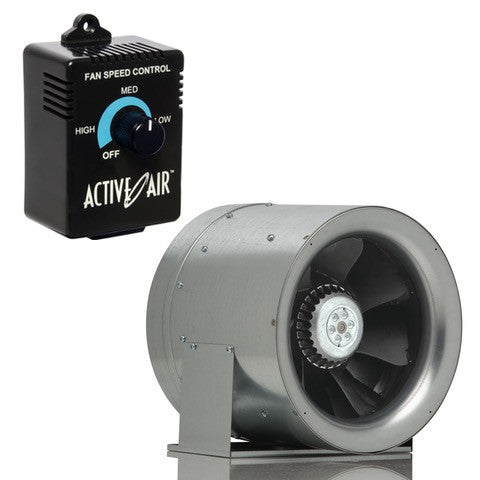 "Can Max-Fan 10"" Inline Fan and Speed Controller Combo"