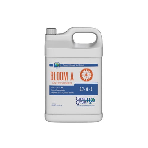 Cultured Solutions Bloom A - Current Culture H2O Hydroponic Nutrients