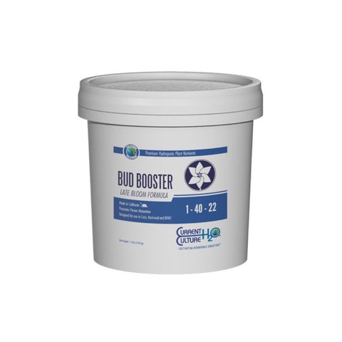 Cultured Solutions Bud Booster Late - Current Culture H2O Hydroponic Nutrients