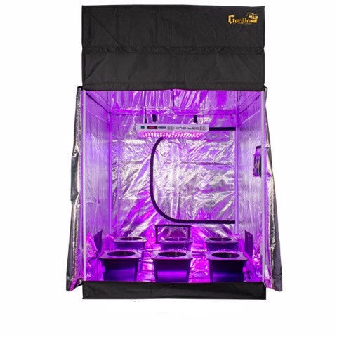 Grow Room - SuperCloset LED SuperRoom 5 Ft X 5 Ft Grow Room