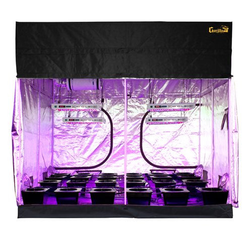 Grow Room - SuperCloset LED SuperRoom 9 ft x 9 ft Grow Room