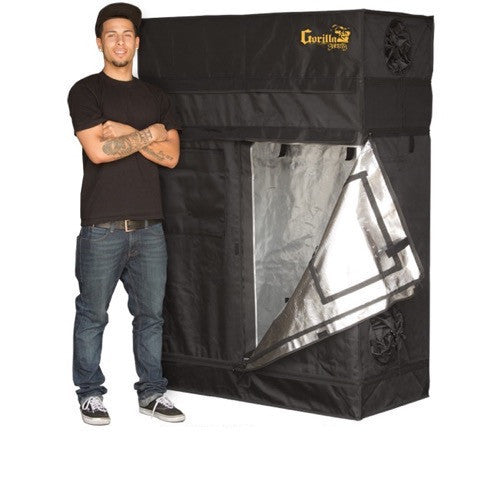 Grow Room Tent - Gorilla Grow Tent Shorty 2' X 4'