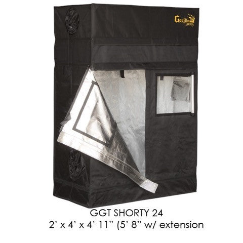 ... Grow Room Tent - Gorilla Grow Tent Shorty 2u0027 X 4u0027 ...  sc 1 st  All Green Hydroponics & Buy Gorilla Grow Tent Shorty 2 ft x 4 ft Grow Room Tent u2013 All ...