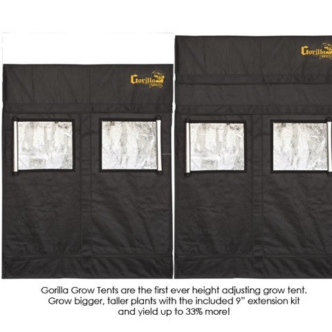 ... Grow Room Tent - Gorilla Grow Tent Shorty 2u0027 X 4u0027 ...  sc 1 st  All Green Hydroponics : grow room tent - memphite.com
