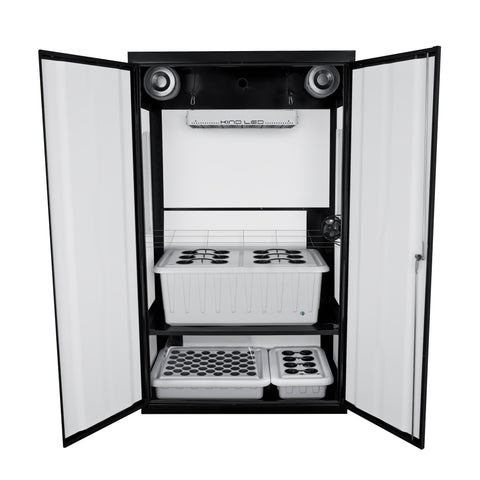 SuperCloset LED SuperNova Grow Cabinet