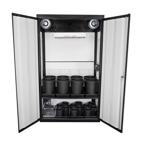 SuperCloset LED SuperNova Soil Grow Cabinet