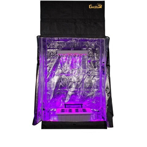 Grow Room - SuperCloset LED SuperRoom 2 Ft X 4 Ft Grow Room
