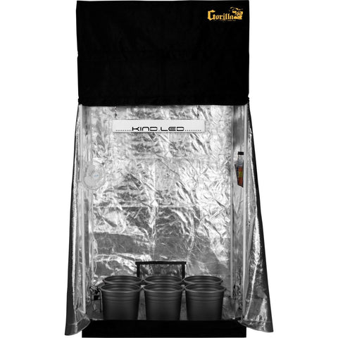 Grow Room - SuperCloset LED SuperRoom 2 Ft X 4 Ft Soil Grow Room