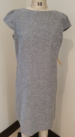 Sandra Shift Dress with Cap Sleeves