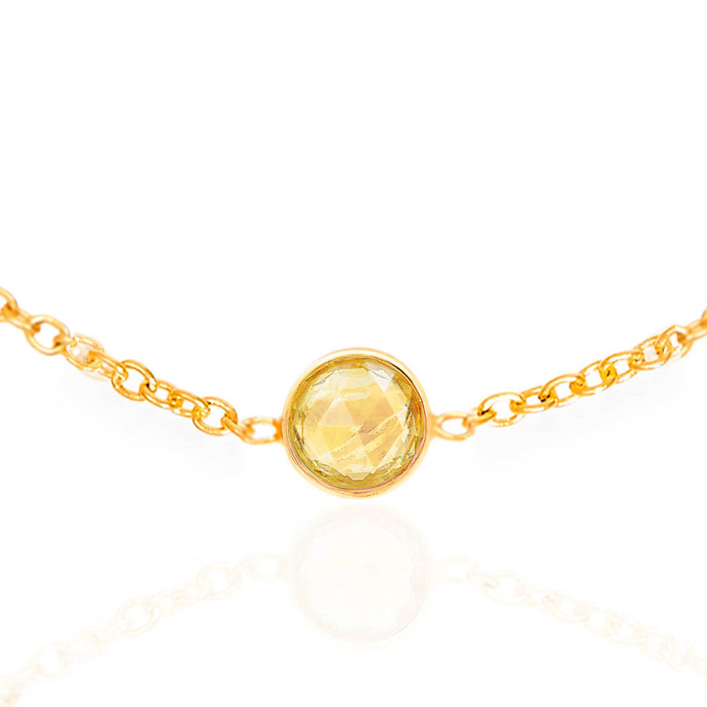 Citrene November Birthstone Bracelet - Auren Jewellery
