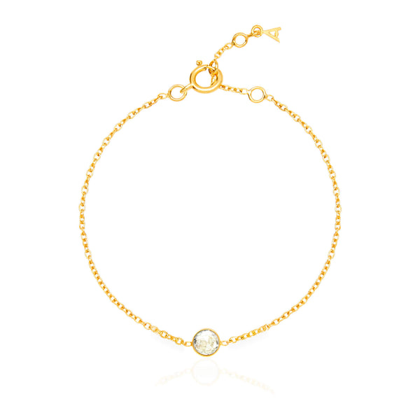 Crystal April Birthstone Bracelet - Auren Jewellery