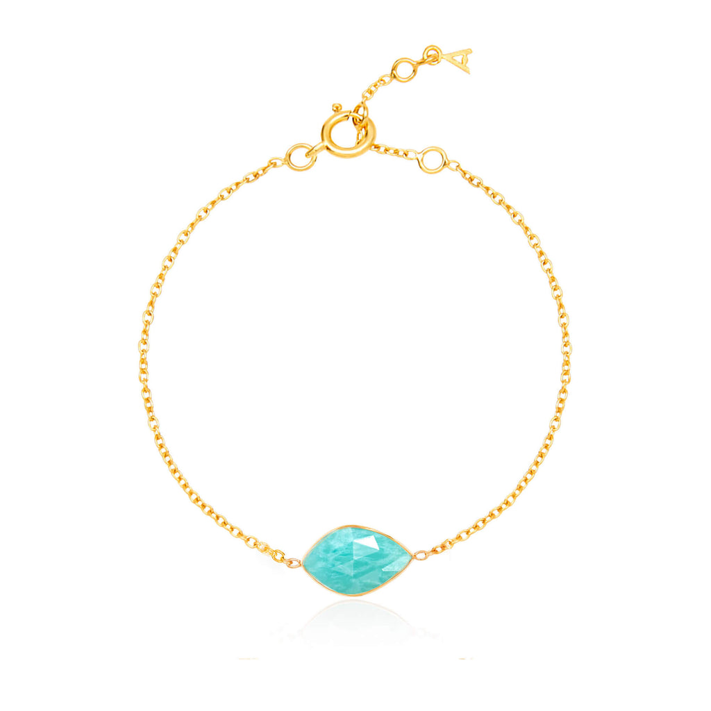 Electric Skies Amazonite Bracelet