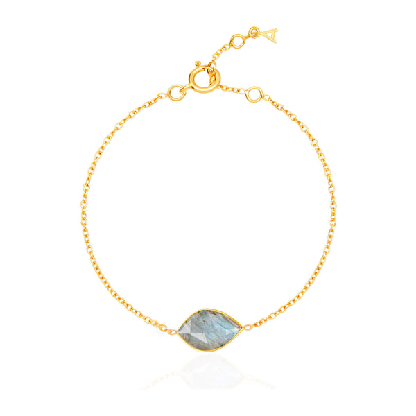 Electric Skies Labradorite Bracelet - Auren Jewellery