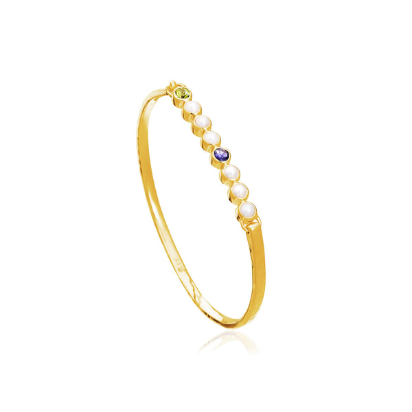 Sequence Slim Cuff - Auren Jewellery