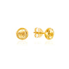 Citrene November Birthstone Stud Earrings - Auren Jewellery