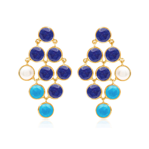 Ciel Cascade Earrings - Auren Jewellery