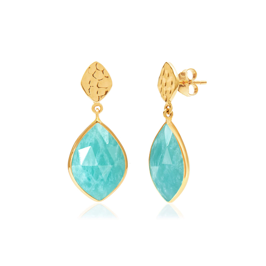 Nuvole Amazonite Earrings