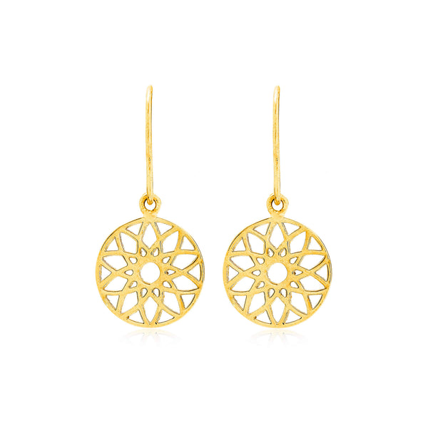 Dreamcatcher Drop Earrings - Auren Jewellery