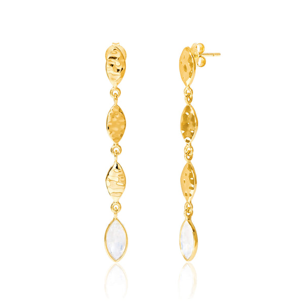 Marquis Long Earrings - Auren Jewellery