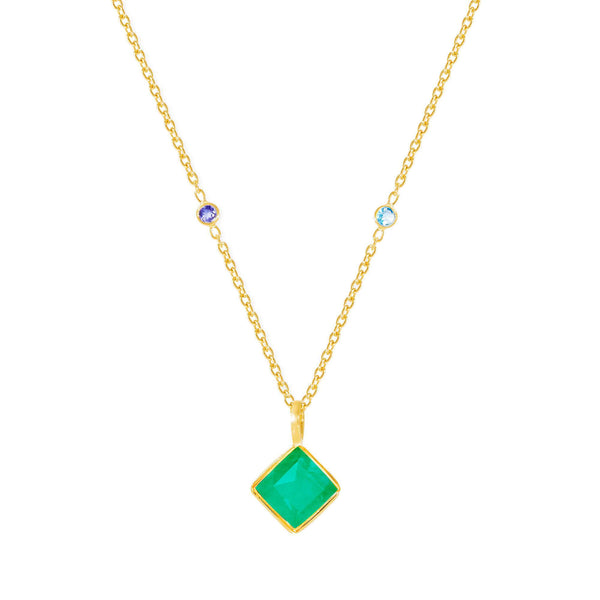 Paradigm Chrysoprase Necklace - Auren Jewellery