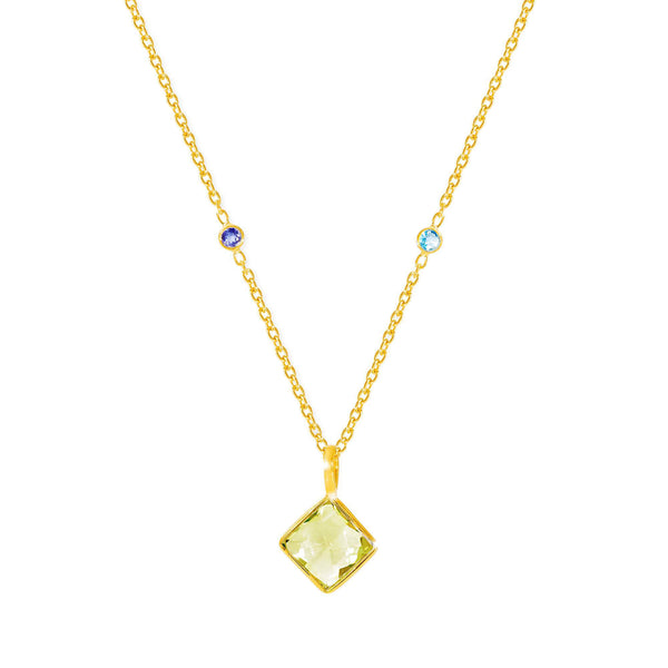 Paradigm Lemon Topaz Necklace - Auren Jewellery