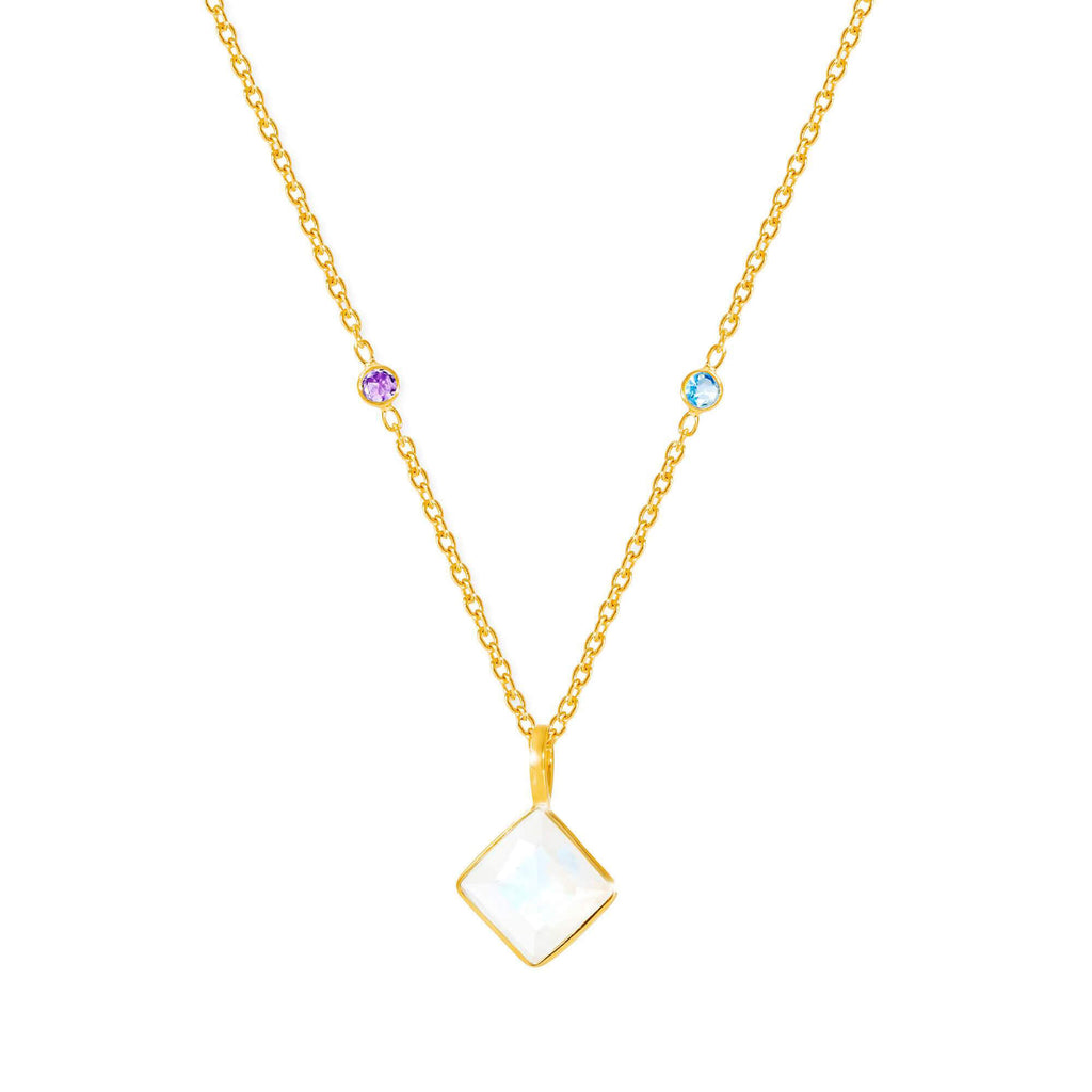 Paradigm Moonstone Necklace