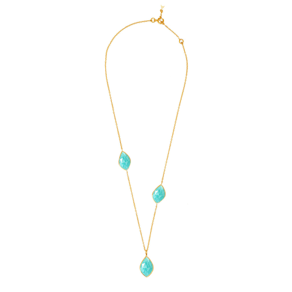 Electric Skies Amazonite Necklace - Auren Jewellery
