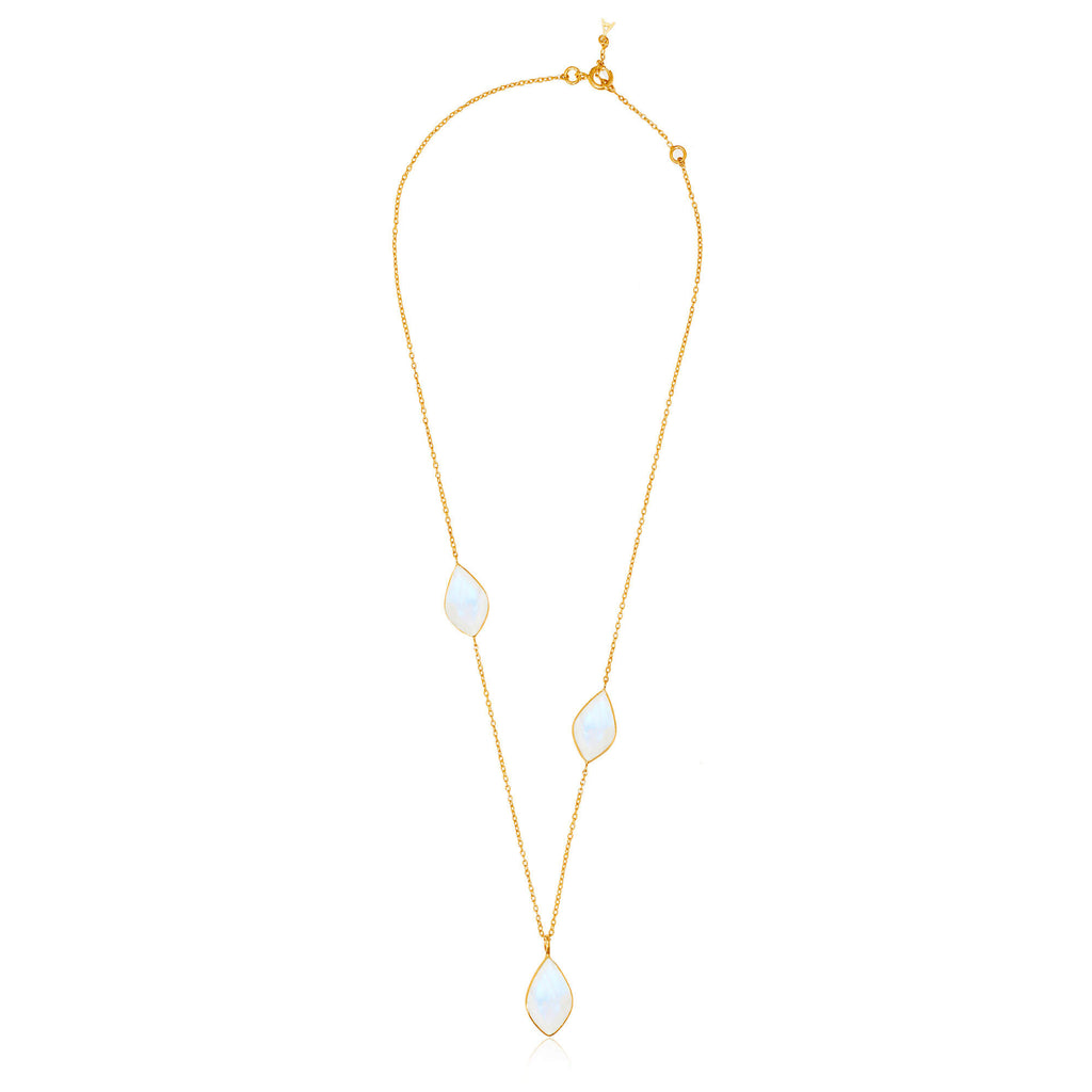 Electric Skies Moonstone Necklace - Auren Jewellery