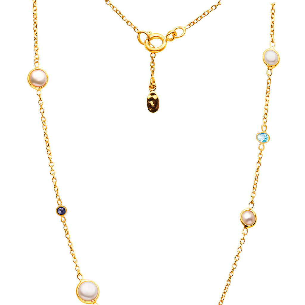 "Sequence Pearl 18"" Necklace - Auren Jewellery"