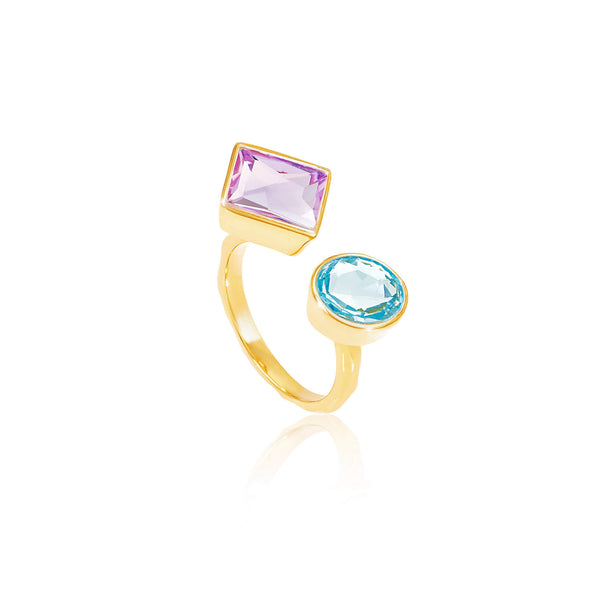 Axiom Gemstone Ring - Auren Jewellery