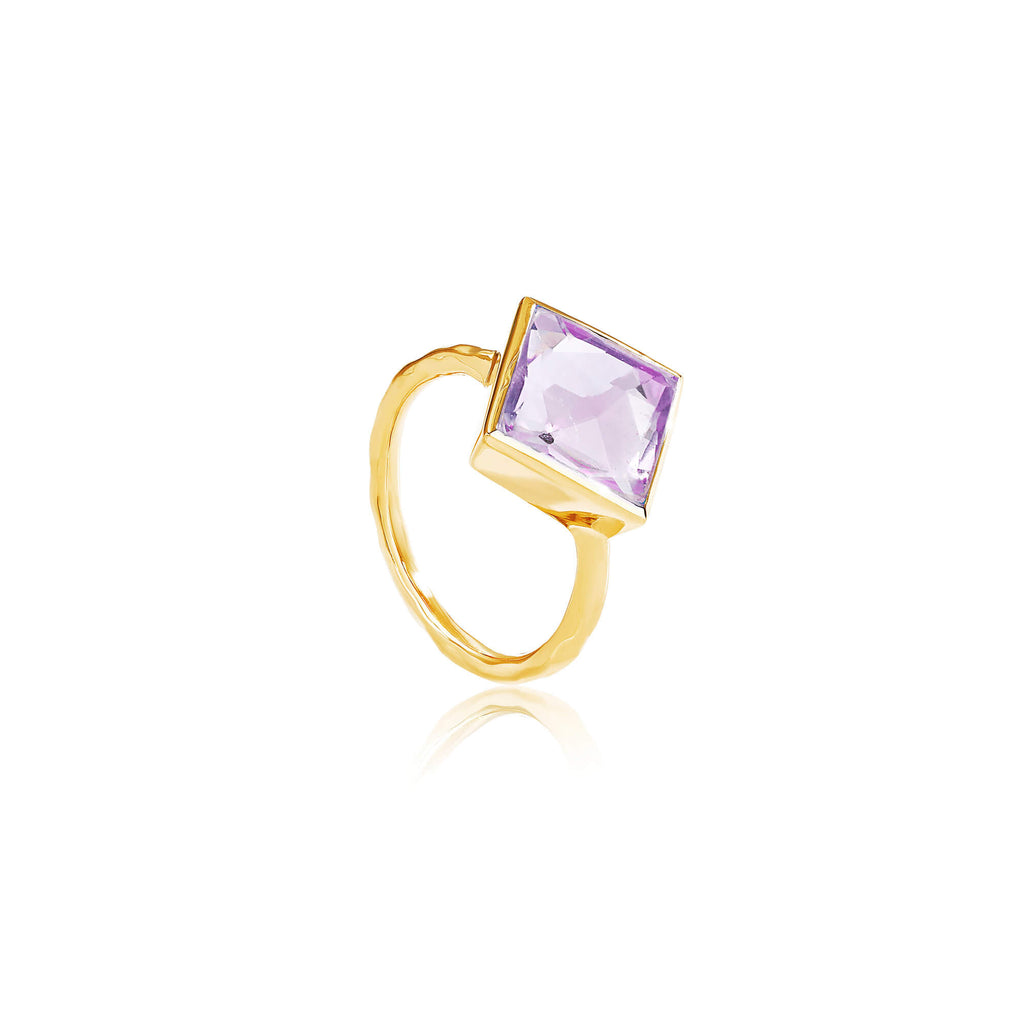 Paradigm Amethyst Cocktail Ring