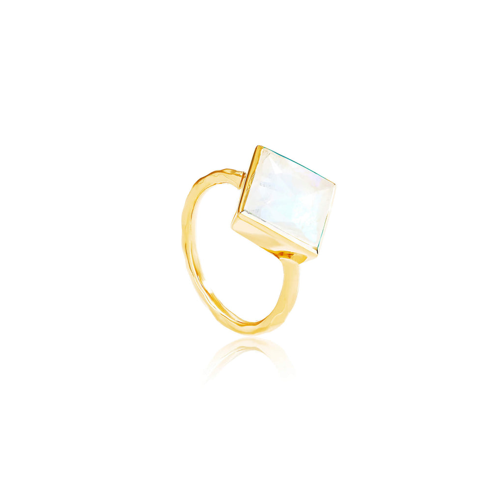 Paradigm Moonstone Cocktail Ring
