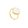 Electric Skies Moonstone Ring - Auren Jewellery