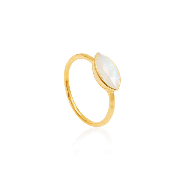 Marquis Moonstone Ring - Auren Jewellery