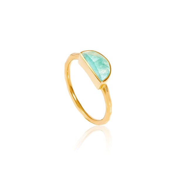 products original rings wire natural thumbnail collections amazonite gold unique group wrapped ring