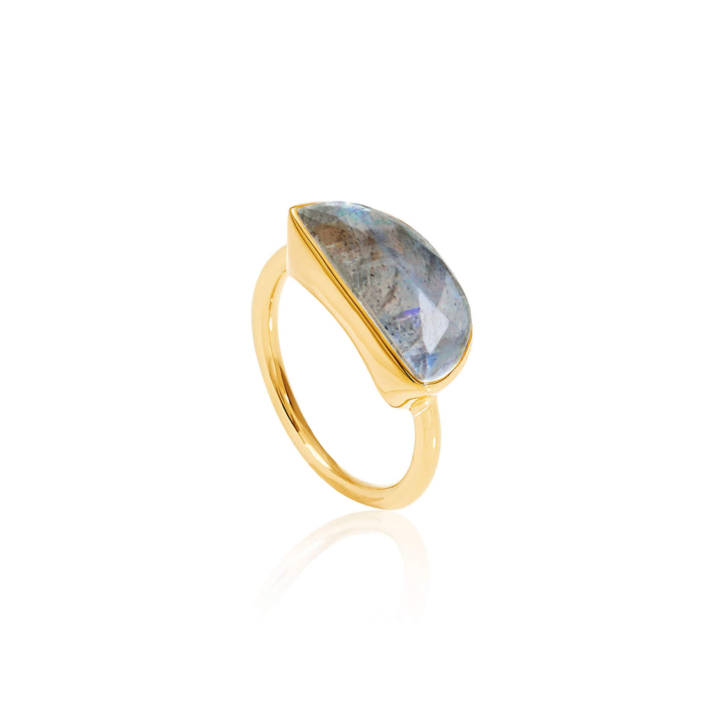 Midnight Labradorite Ring