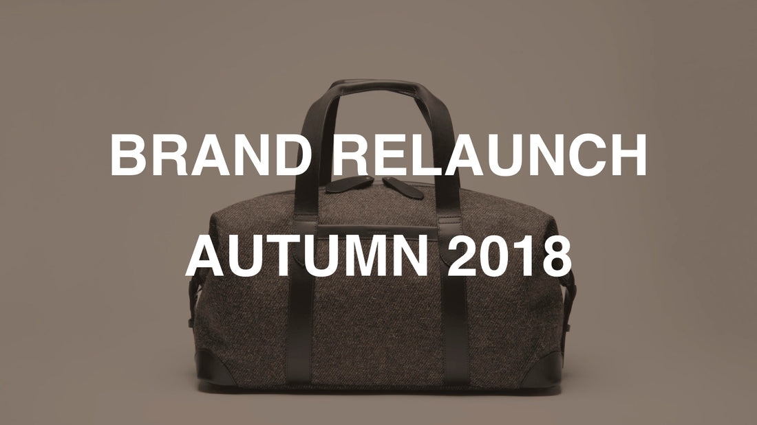 BRAND RELAUNCH AUTUMN 2018