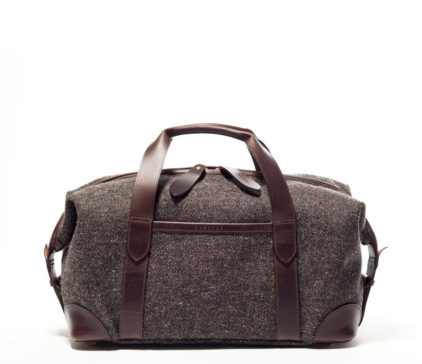 Squires Holdall S, (original colourway), Herdwyck Tweed