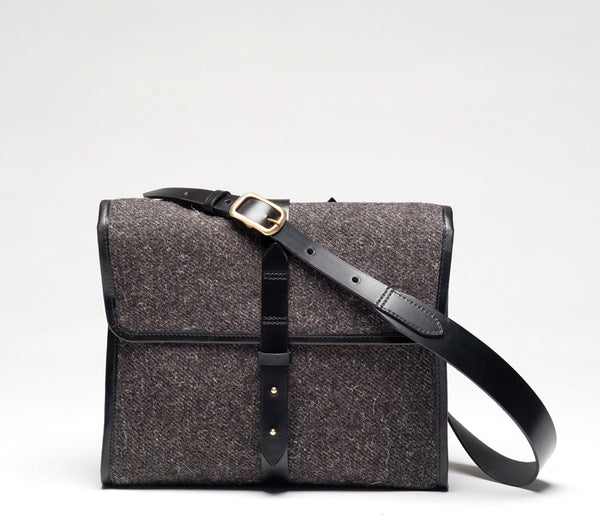 Norwich Satchel L, Herdwyck Tweed