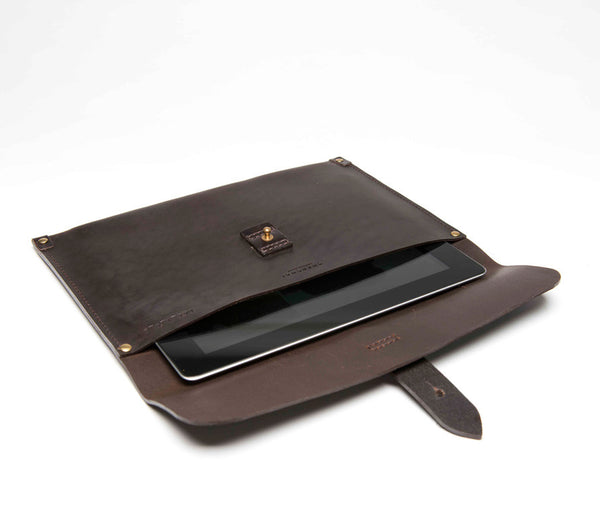 Tablet Sleeve, Waxed Leather