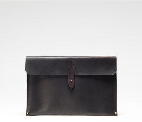 "Laptop Sleeve 13"", Waxed Leather"