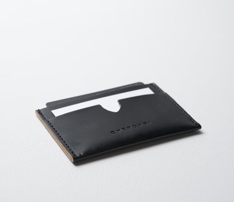Slip Wallet, Waxed Leather
