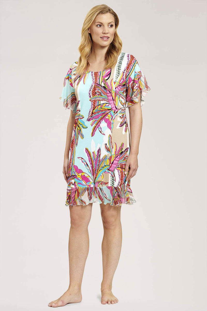 Louis Feraud Beach Dress Mid