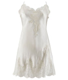 Aubade 'Soie d'Amour' (Nacre) Babydoll - Sandra Dee - Product Shot - Front