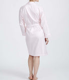 British Boxers Two-Fold Herringbone (Rosewater Pink) Robe - Sandra Dee - Product Shot - Rear