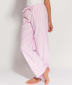 British Boxers Two-Fold Flannel (Westwood Pink Stripe) Pyjama Trousers - Sandra Dee - Product Shot - Front