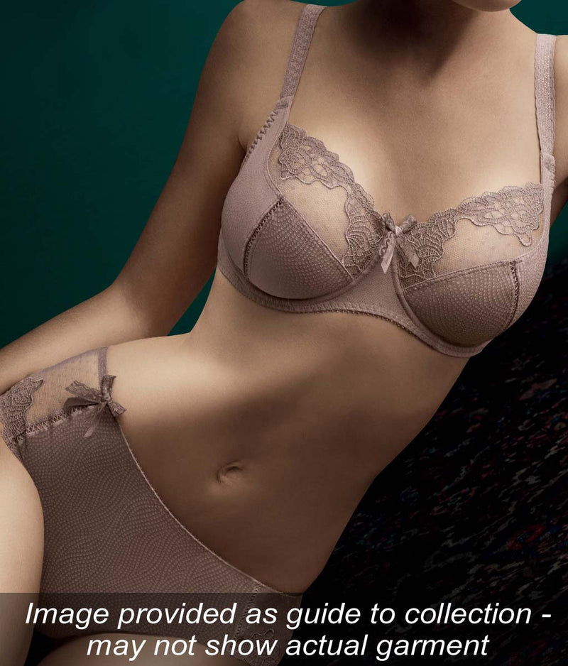 Empreinte 'Erin' (Noisette) Low-Necked Bra - Sandra Dee - Collection Publicity Shot